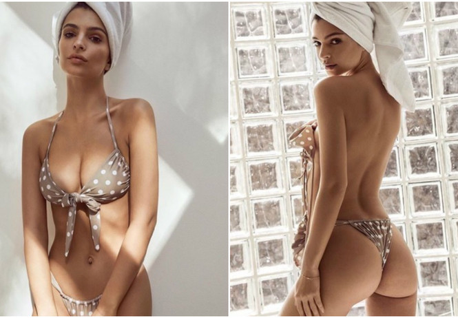 Эмили Ратаковски САМА демонстрирует купальники из собственной коллекции!