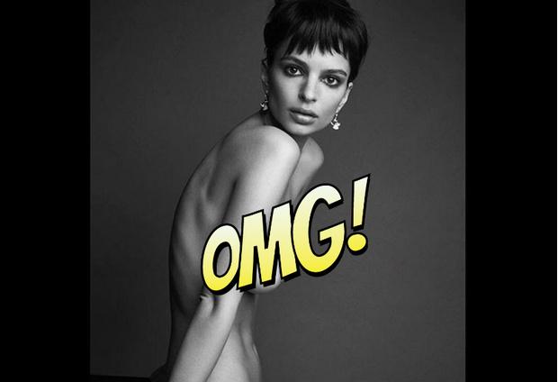 Фото №1 - Новое фото совершенно голой Эмили Ратаковски. Успей взглянуть, пока его не удалили!