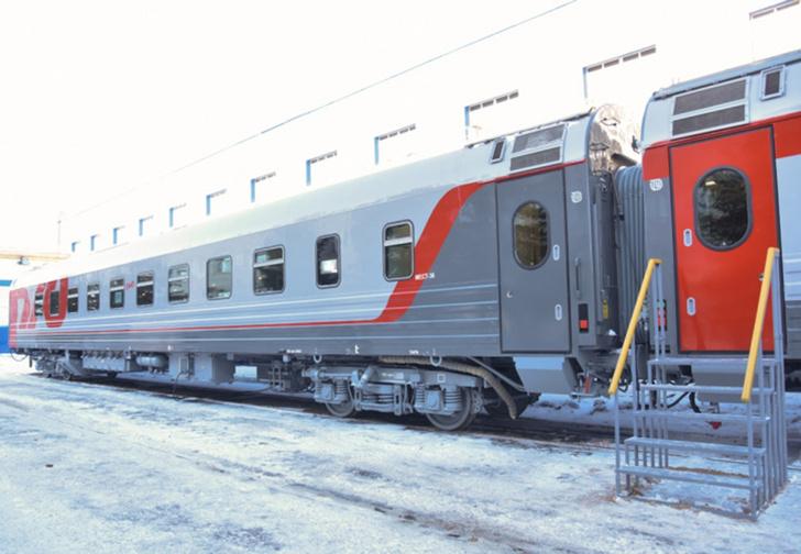 Фото №1 - Трансмашхолдинг показал, как будут выглядеть новые купе в российских поездах