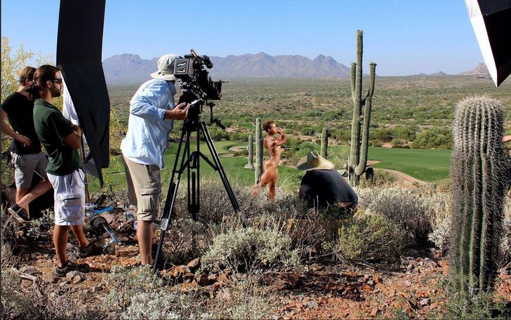 Фото №7 - А спортсменка-то голая!
