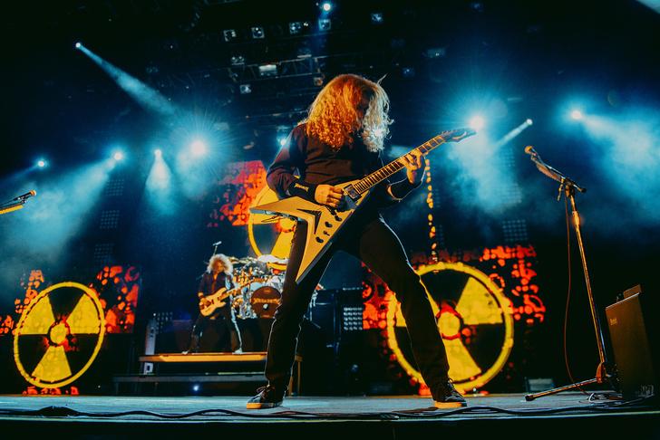Фото №10 - Megadeth подняли температуру в Москве — посмотри и приобщись!