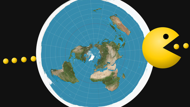 Фото №1 - В Великобритании прошла первая конференция сторонников теории плоской Земли