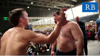 Вот как выглядит чемпионат России по пощечинам (болезненное ВИДЕО)