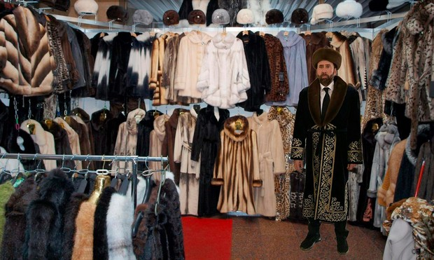 Фото №28 - Лучшие фотожабы на Николаса Кейджа в Казахстане
