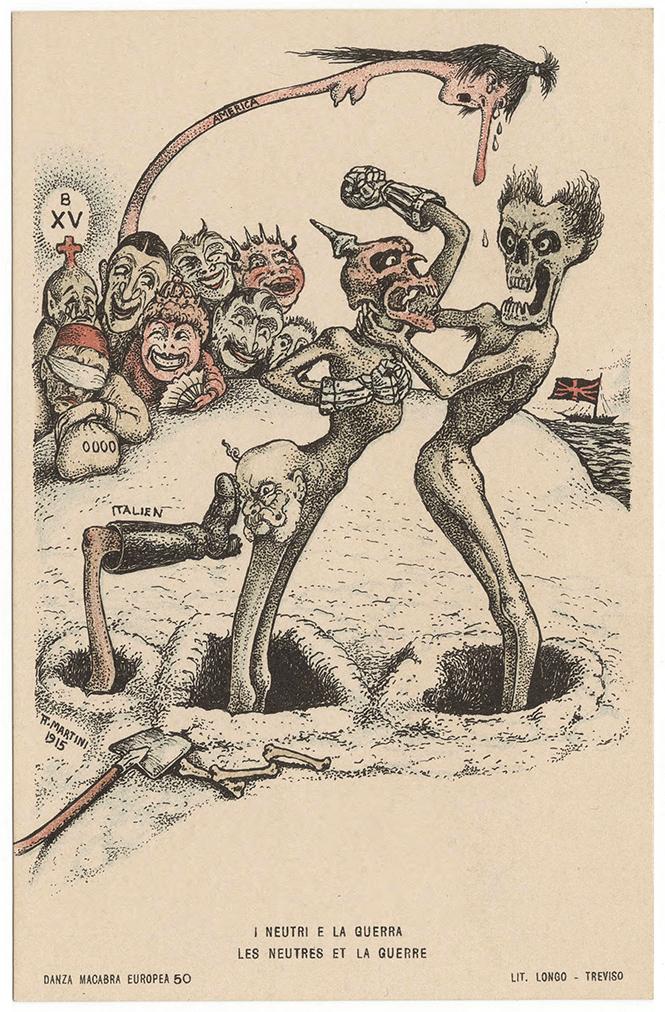 Фото №20 - Жутковатые карикатуры Первой мировой