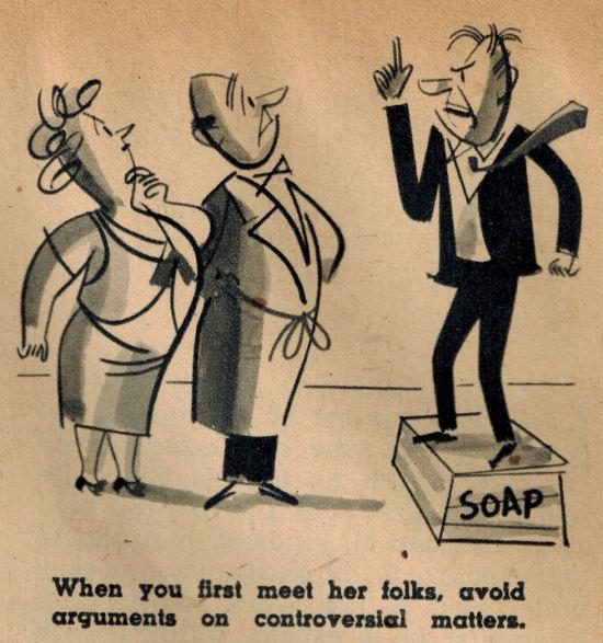 Как знакомиться с родителями девушки: 4 действенных совета из 1948 года