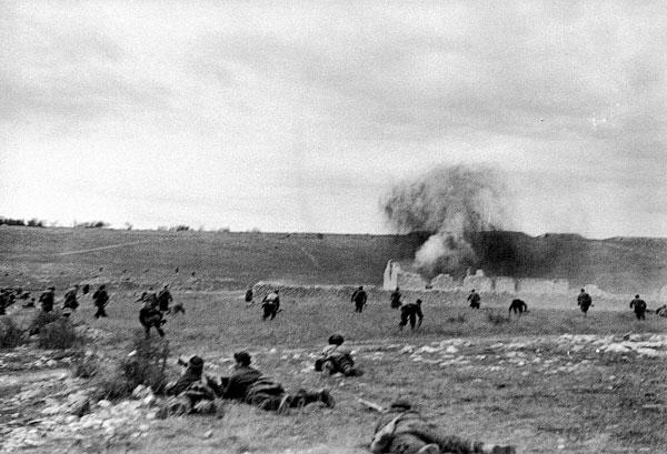 Фото №6 - Синявинские высоты: как саперная лопатка стала любимым оружием советской пехоты