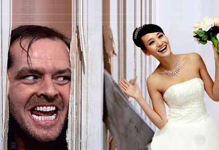 Свадебный конкурс по-китайски. Зачем китайские женихи рубят двери невесты топором? Жуткое ВИДЕО