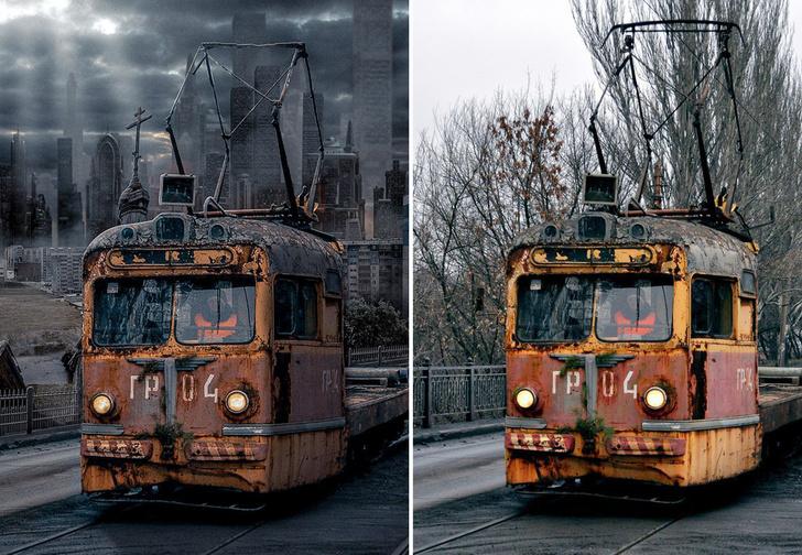 Фото №1 - Россия будущего в стиле панк-нуар: 18 картинок про то, как есть и как станет