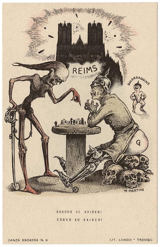 Фото №50 - Жутковатые карикатуры Первой мировой