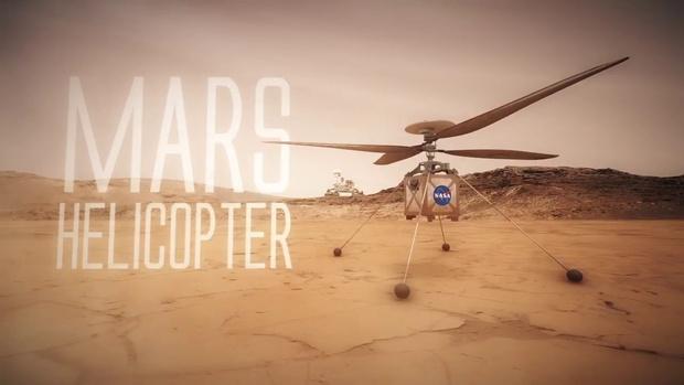 Фото №1 - На Марс полетит вертолет (ВИДЕО)
