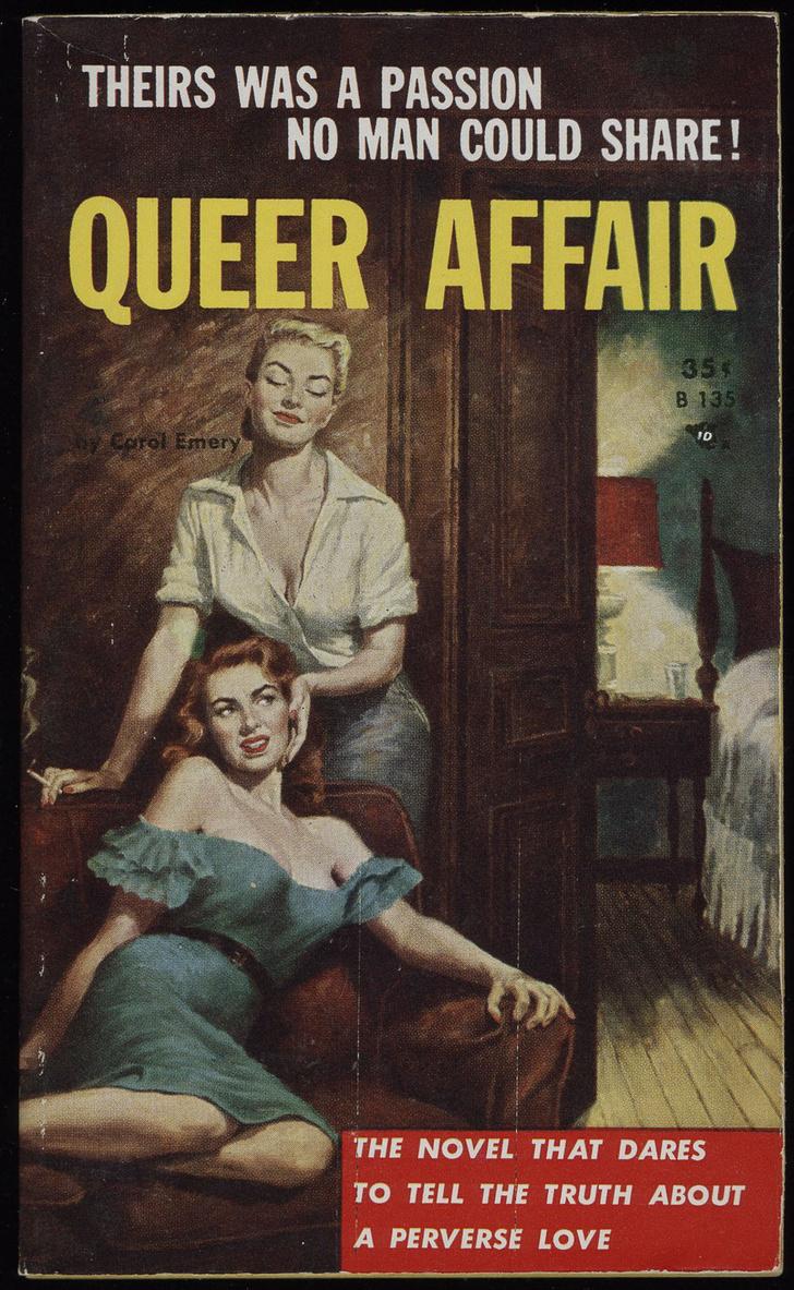Фото №5 - Обложки старых эротических книг про лесбиянок!