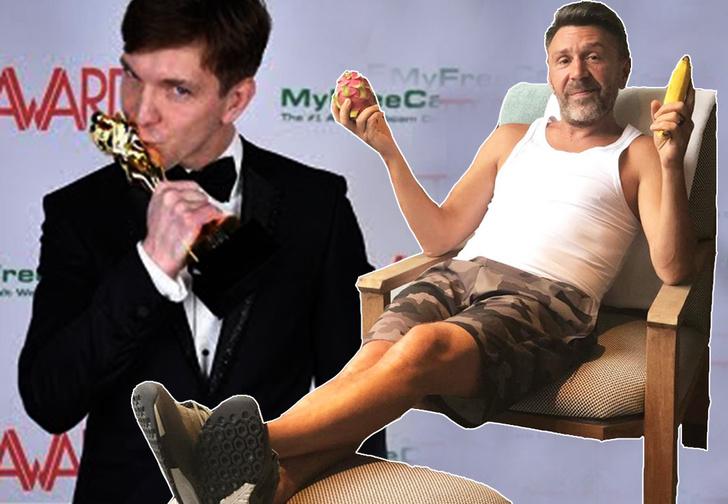 Фото №1 - Шнур посвятил стихи питерскому актеру, которому дали «Оскар» для взрослых