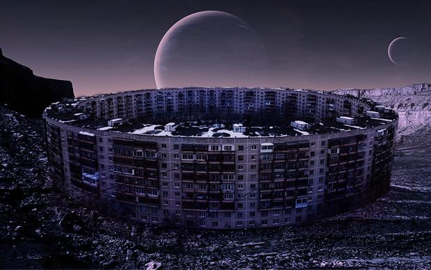 Фото №1 - Советские постройки на других планетах