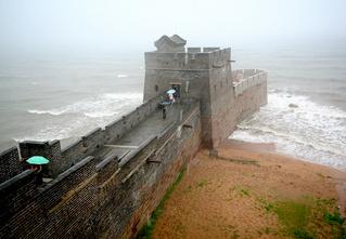 Место, где кончается Великая Китайская cтена