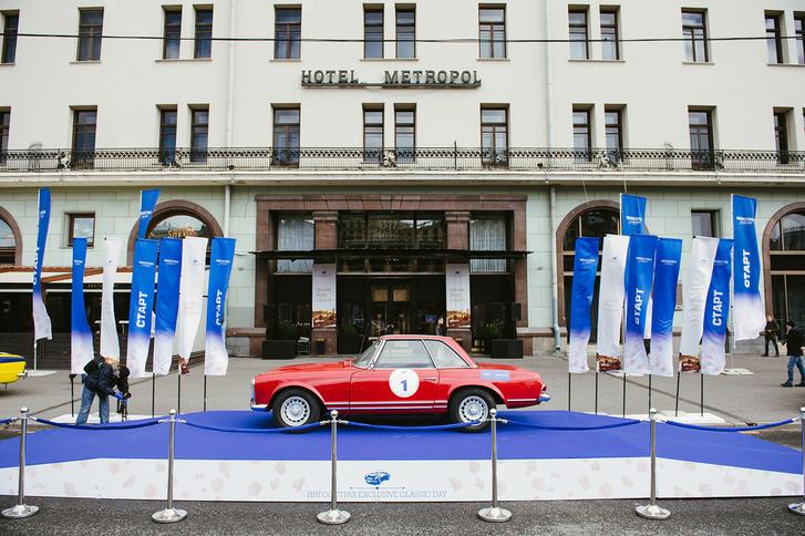 Фото №2 - Ветераны автомобилестроения проехались с ралли «Ингосстрах Exclusive Classic Day» по Москве