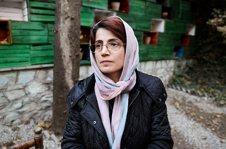 Фото №1 - Иранскую правозащитницу приговорили к 33 годам тюрьмы и 148 ударам плетьми