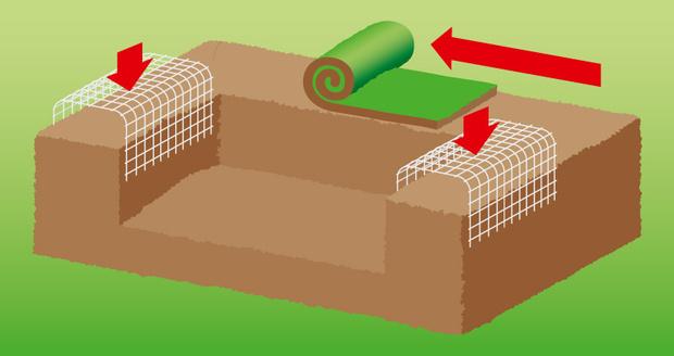 Фото №4 - Как сделать на даче травяной диван