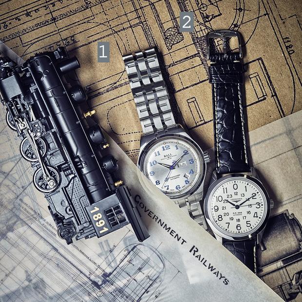 Фото №1 - Машинист времени: четверка наручных часов, вдохновленных железной дорогой