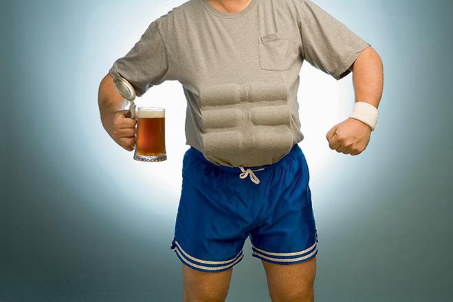 Стремительным дебатом: Толстеют ли от пива?
