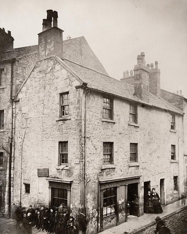 Дом, в котором родился Пинкертон