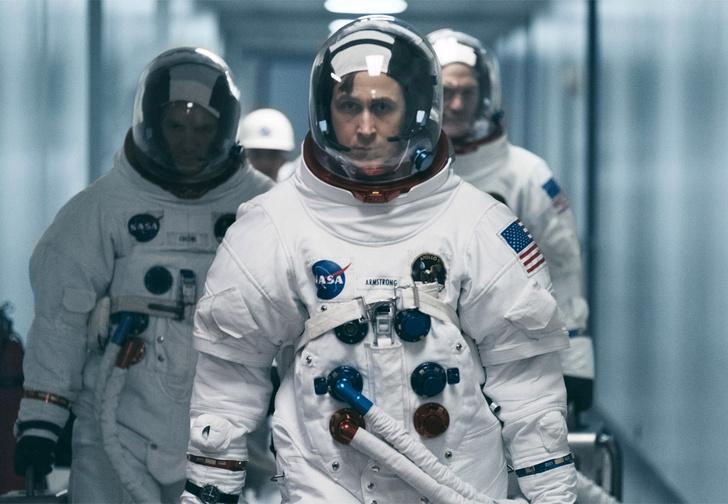 Фото №1 - Райан Гослинг в трейлере фильма «Человек на Луне»
