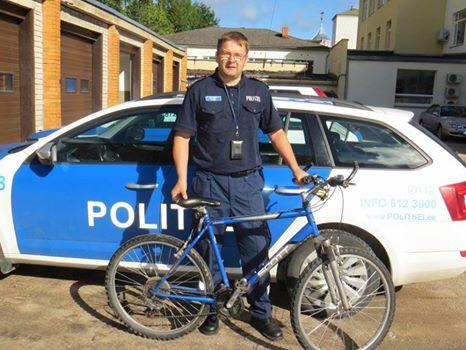 Велосипед вернули владельцу через 14 лет после кражи