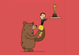 Самые смешные картинки про Ди Каприо и «Оскар»