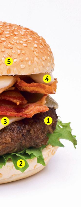 Фото №1 - Противогололедное средство и еще 4 тайных ингредиента твоего любимого бургера