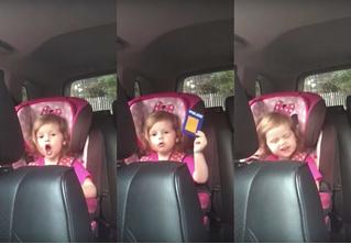 Умилительная интерпретация «Богемской рапсодии» от трехлетней девочки (видео)