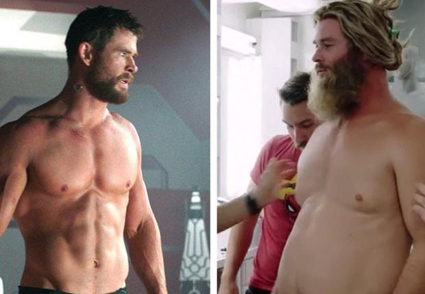 Фото №1 - Крис Хемсворт рассказал, как тяжело было стать «толстым» Тором в «Мстителях. Финал»