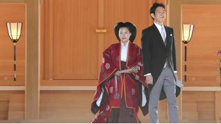 Японская принцесса отреклась от титула, чтобы выйти замуж за простолюдина