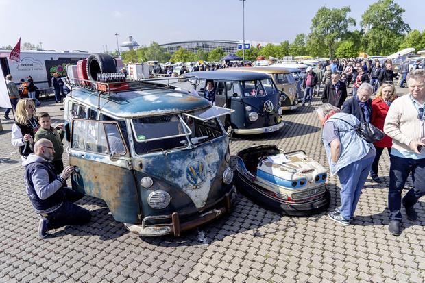 Фото №6 - Машина для любви, а не для войны: история легендарного «хиппи-буса» от VW