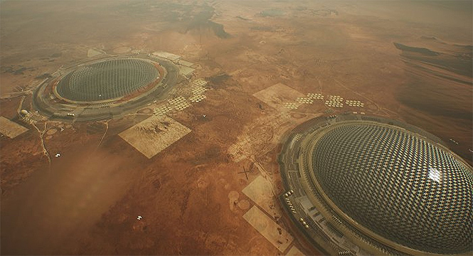 Фото №2 - Марс? Атакуем! Работы победителей конкурса проектов колонизации Марса