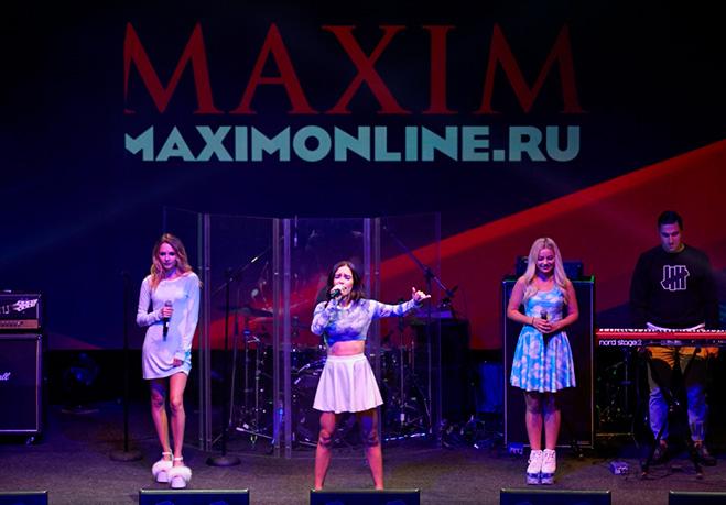 SEREBRO на Miss MAXIM ВКонтакте 2016