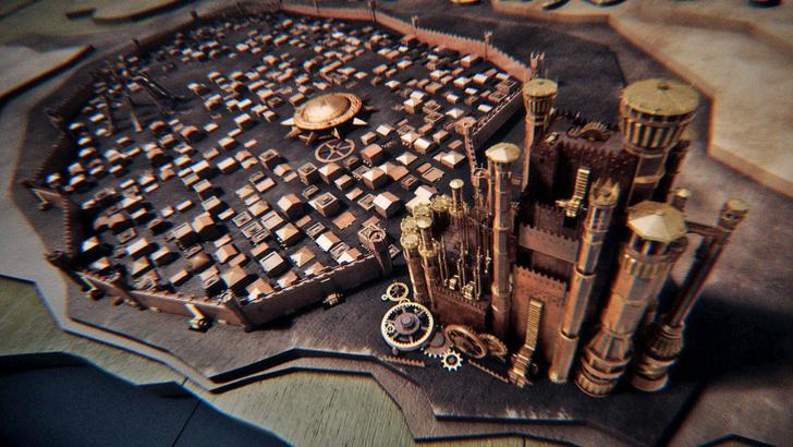 Фото №1 - Вот это да! 3D-карта «Игры престолов»!