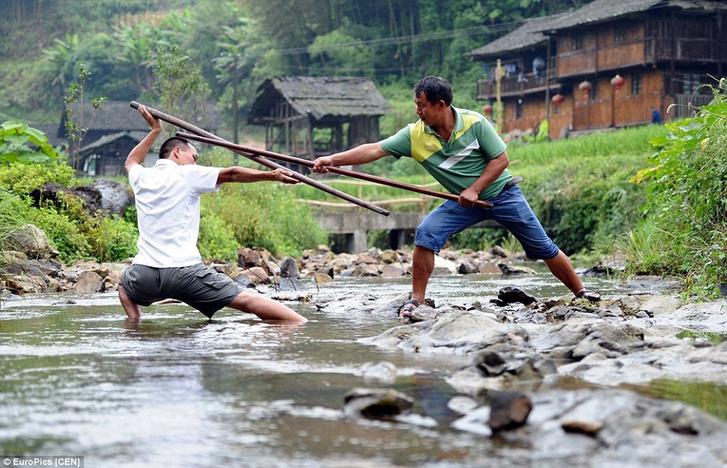 Фото №3 - Найдена деревня, в которой все жители владеют кунг-фу!
