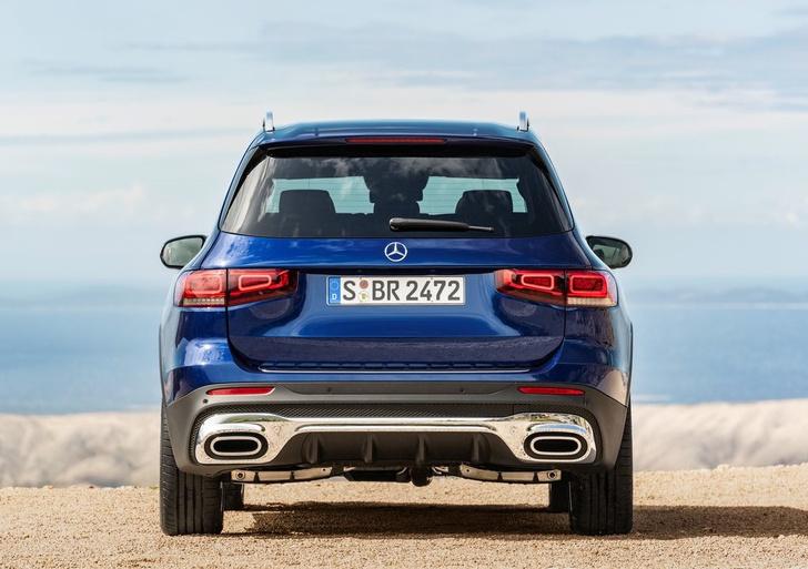 Фото №3 - Mercedes-Benz GLB: внедорожников не может быть слишком много
