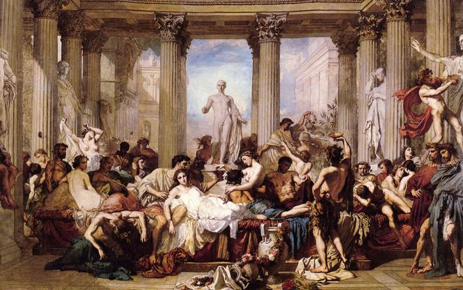 Секс на фресках древнего рима