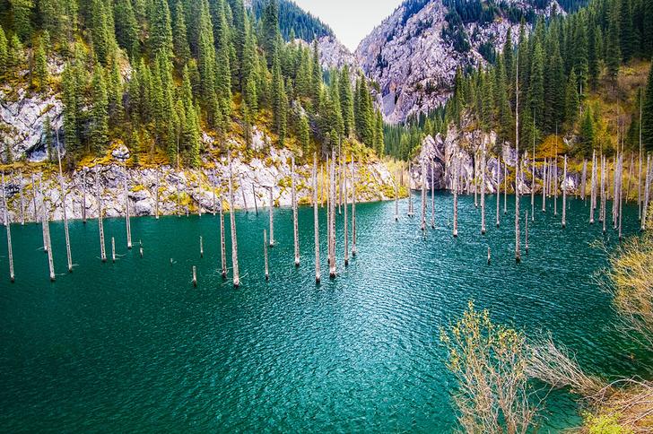 Озерный рай
