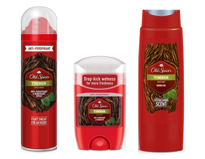 Timber от Old Spice вышибет пот!