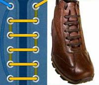 Шнурки как вязать