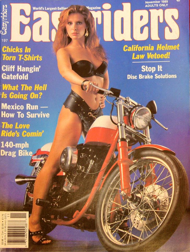 Фото №9 - Сексуальные девушки байкеров из 1980-х!