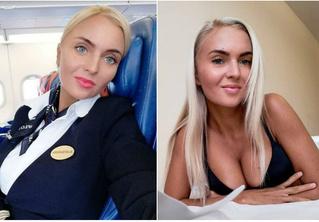 Стюардесса недели: Александра Тарасова из «Аэрофлота»!