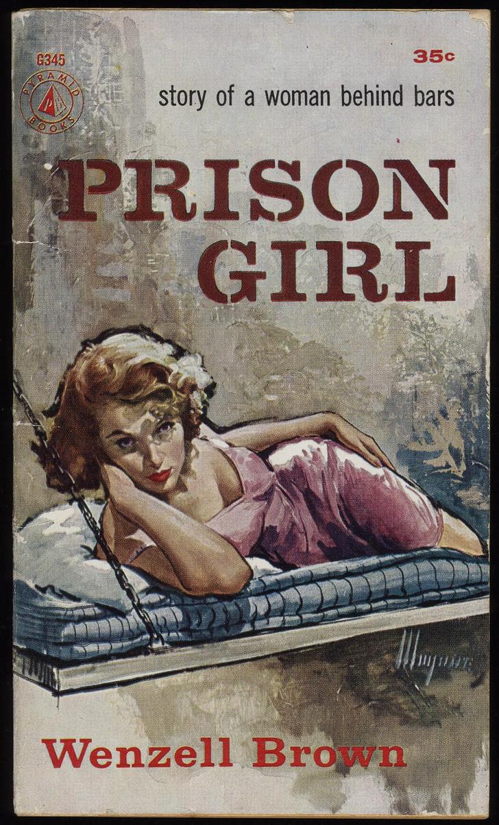 Фото №7 - Обложки старых эротических книг про лесбиянок!