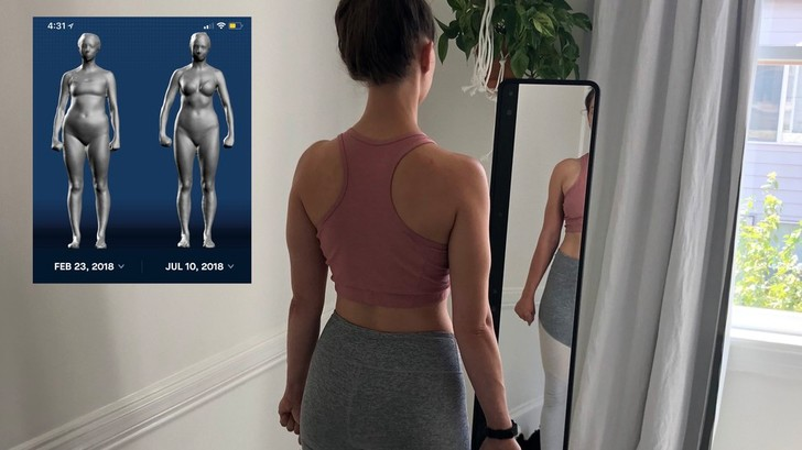Фото №1 - Зеркало, как в сериале «Черное зеркало», расскажет тебе, какой ты «стройный, но кость широкая» (ВИДЕО)