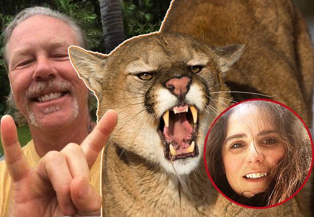 Фото №1 - Джеймс Хэтфилд связался с девушкой, которая отогнала пуму песней Metallica