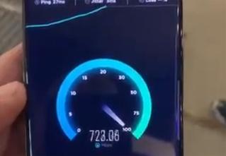 Видео работы телефона в сети 5G отбрасывает 4G в каменный век (видео прилагается)
