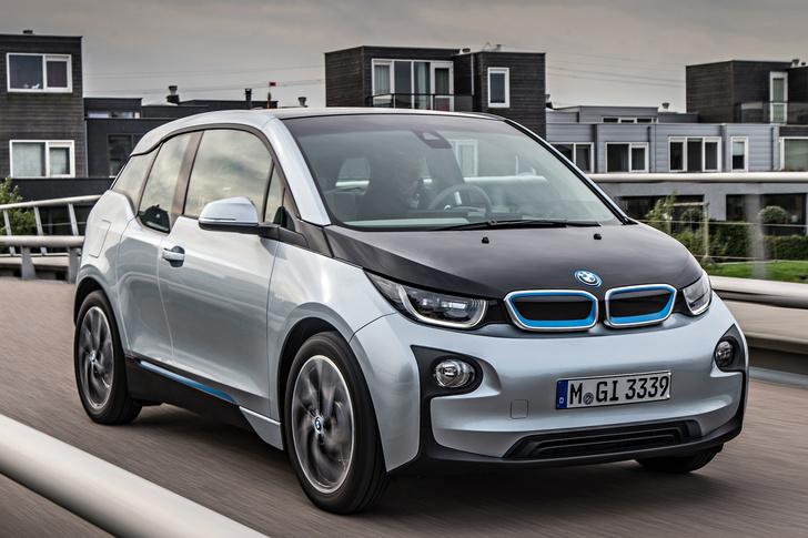 Фото №1 - Первый в мире BMW, работающий от розетки