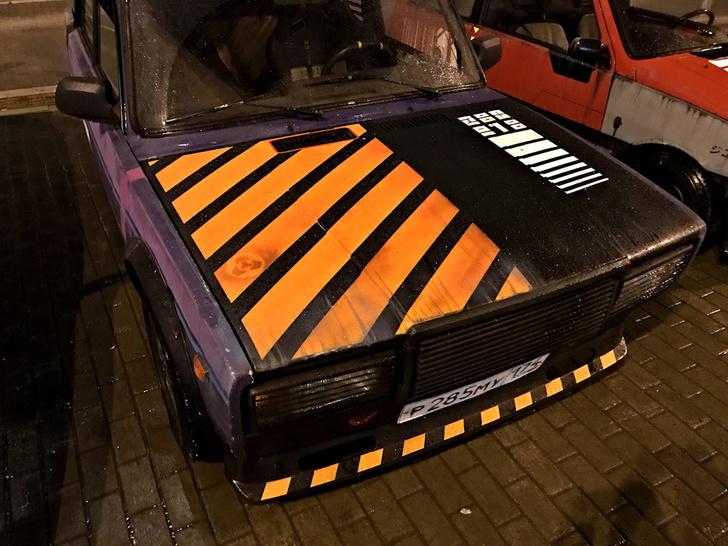 Фото №6 - Житель Екатеринбурга создает автомобили как из игры Cyberpunk 2077 и фильмов про жуткое техногенное будущее (много фото)